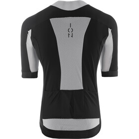 ION Paze AMP T-shirt doorlopende rits Heren, zwart/grijs
